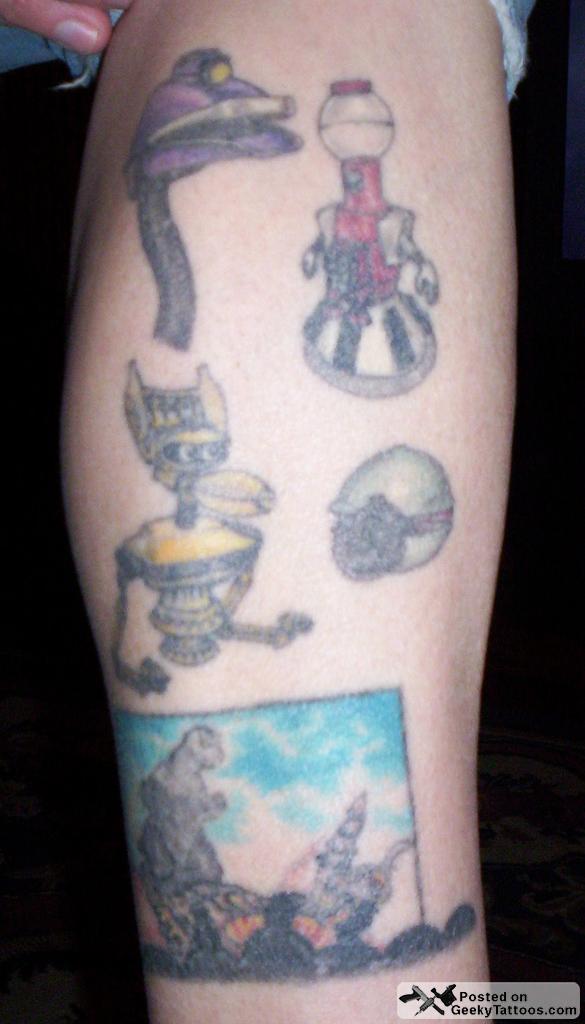 Geeky tattoos part 33 for Tom servo tattoo