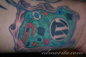 Wordpress Tattoo - Full Res