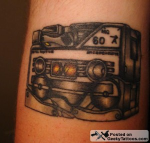 Transformers Ravage Tattoo