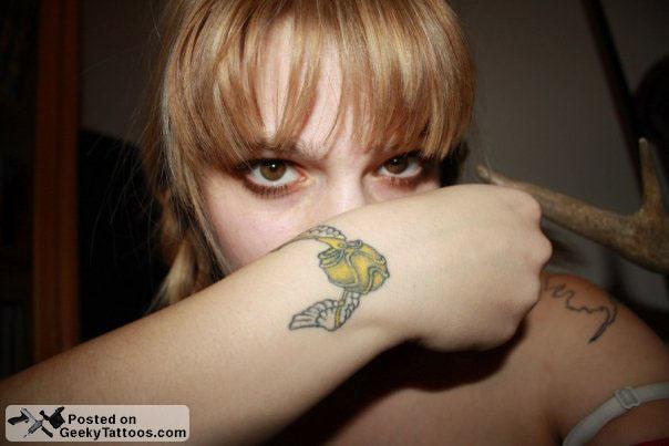 Snitch Tattoo