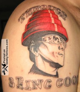 Devo tattoo