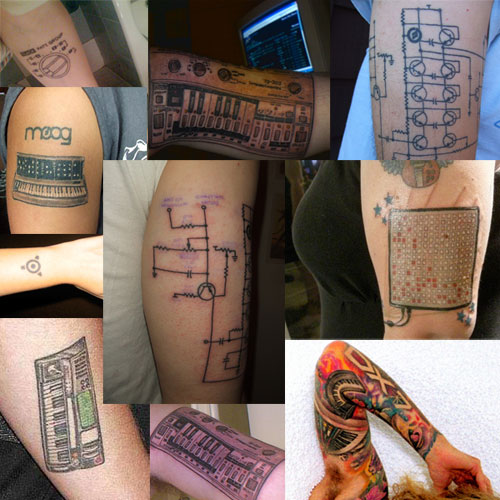 Synthesizer Tattoos