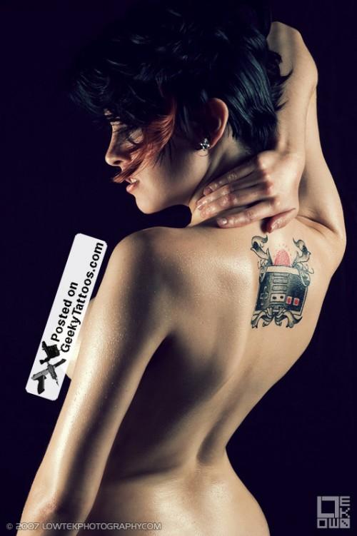 Fela Fray's Nintendo Controller Tattoo