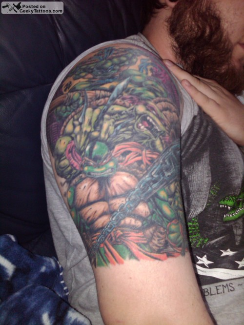Teenage Mutant Ninja Turtles sleeve