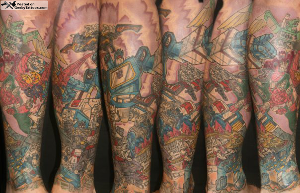 Soundwave Leg Sleeve