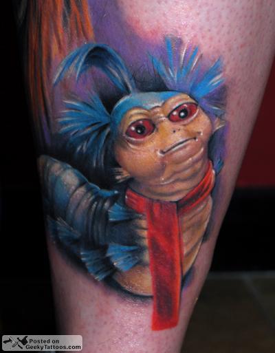 Amazing Labyrinth Tattoo @ Geeky Tattoos Labyrinth Movie Tattoo