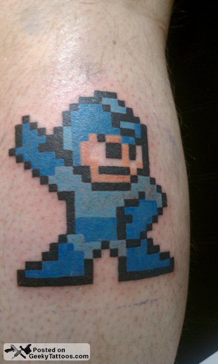 mega geeky tattoos