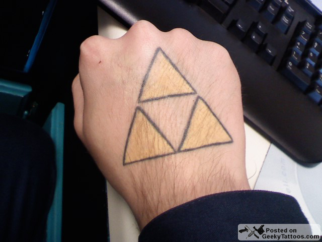 triforce tuesday a triforce on the hand is worth geeky