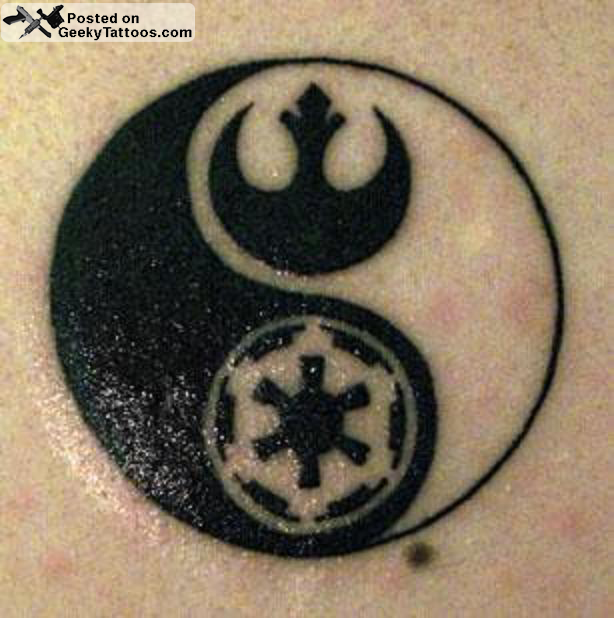 Balance Your Life You Must Geeky Tattoos