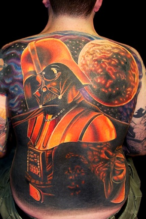 His Back is His Dark Side