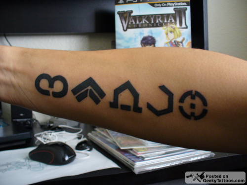 Geeky tattoos part 22 for Shadow of the colossus tattoo