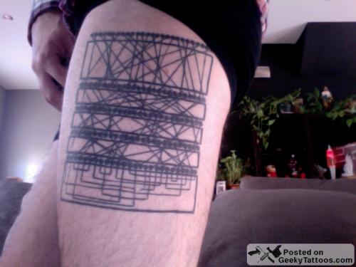 Enigma Machine Tattoo   Geeky Tattoos