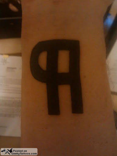 What the Heck is a Pilcrow? @ Geeky Tattoos