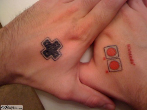 Nintendo-controller-buttons-tattoo