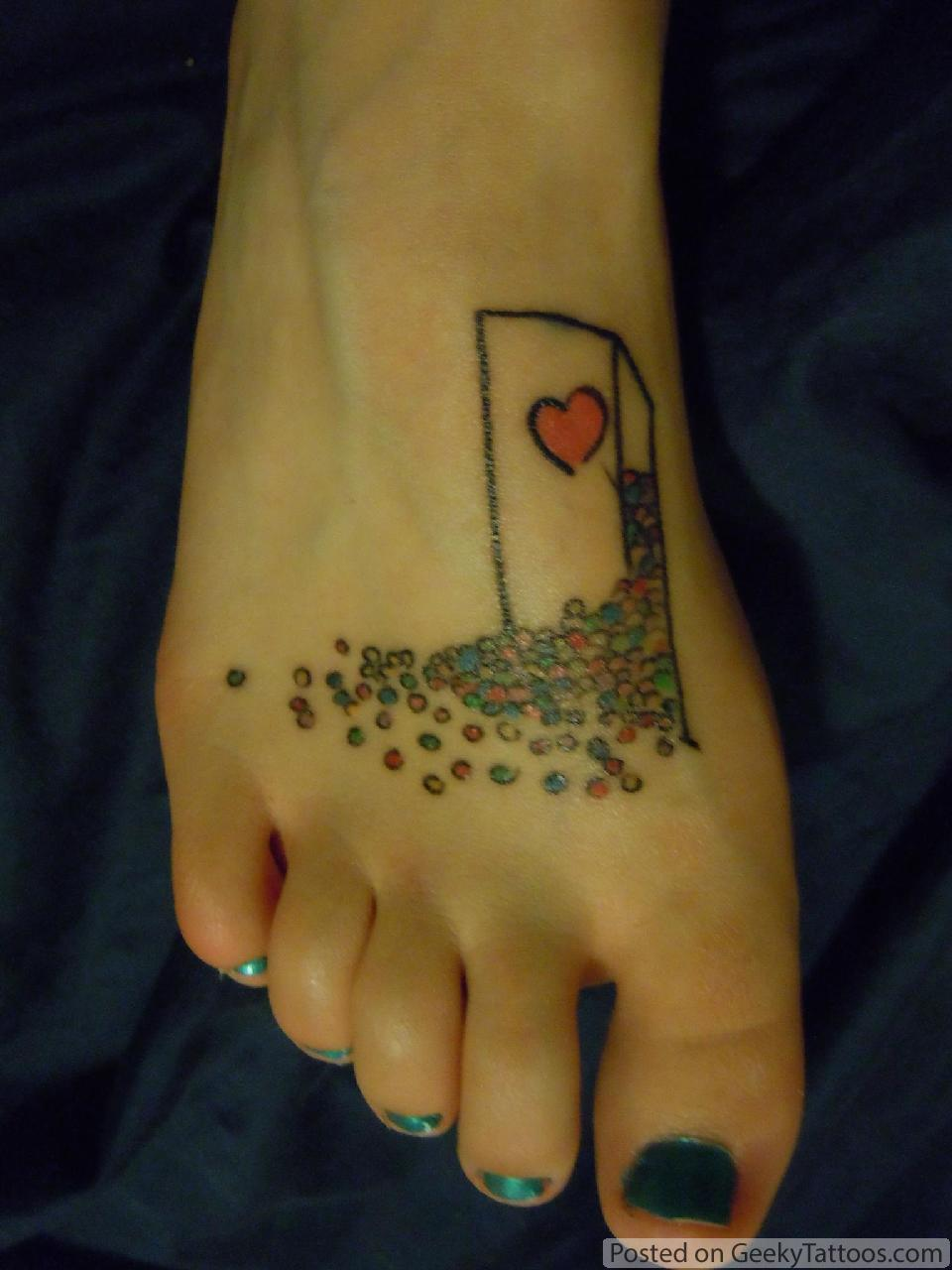 Xkcd Foot Tattoo  Geeky Tattoos