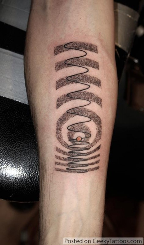 Doppler Effect Tattoo