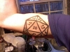D20 on the Bicep