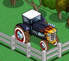 Farmville Hot Rod Tractor